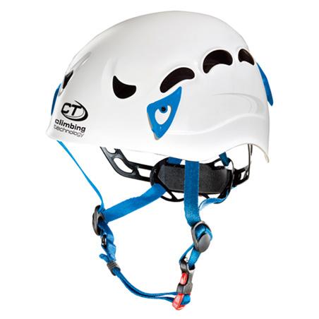 climbing technology クライミングテクノロジー ギャラクシー ホワイト/ブルー CT-42017アウトドアギア 登山 トレッキング ヘルメット ホワイト