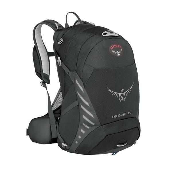 OSPREY オスプレー エスカピスト 25/ブラック/S/M OS56312001004アウトドアギア デイパック バッグ バックパック リュック ブラック 男性用 おうちキャンプ