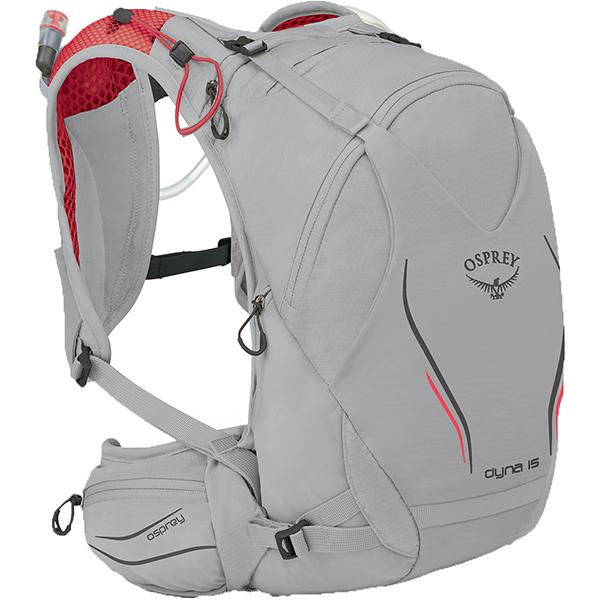 OSPREY オスプレー ダイナ 15/シルバースパーク/XS/S OS56015アウトドアギア トレラン用パック スポーツウェア アクセサリー スポーツバッグ シルバー 女性用 おうちキャンプ