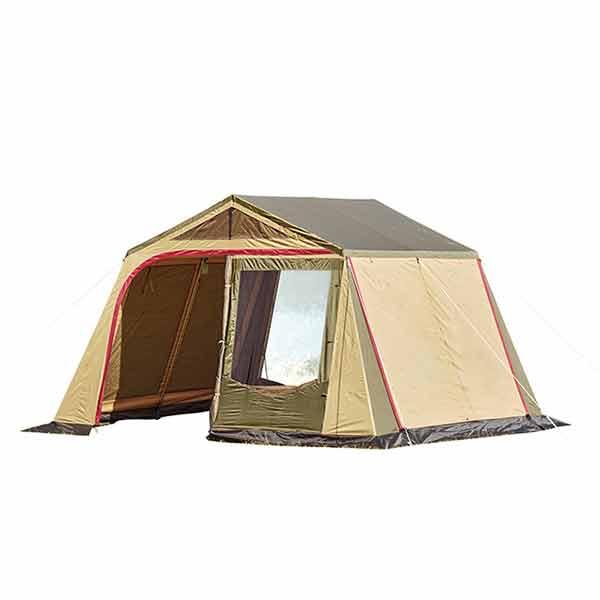 【特別期間ポイント10倍キャンペーン】ogawa campal 小川キャンパル リビングシェルター5 3379アウトドアギア キャンプ大型 キャンプ用テント タープ ブラウン ベランピング おうちキャンプ