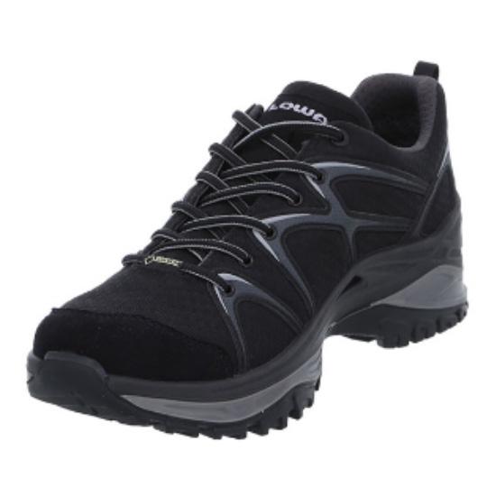 LOWA ローバー イノックス GT LO/BK/8H L310601-9930-8Hアウトドアギア ハイキング用 トレッキングシューズ トレッキング 靴 ブーツ ブラック 男性用 おうちキャンプ