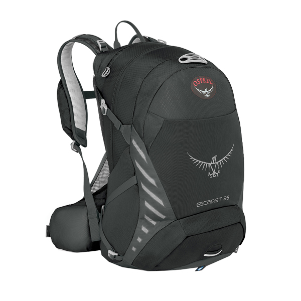 OSPREY オスプレー エスカピスト 25/ブラック/M/L OS56312001006アウトドアギア デイパック バッグ バックパック リュック ブラック 男性用 おうちキャンプ