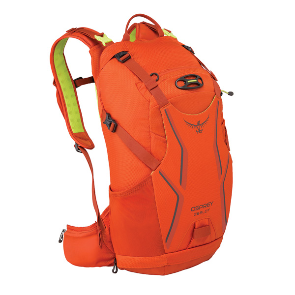 OSPREY オスプレー ジーロット 15/アトミックオレンジ/M/L OS56060アウトドアギア 自転車用バッグ バッグ バックパック リュック オレンジ 男性用
