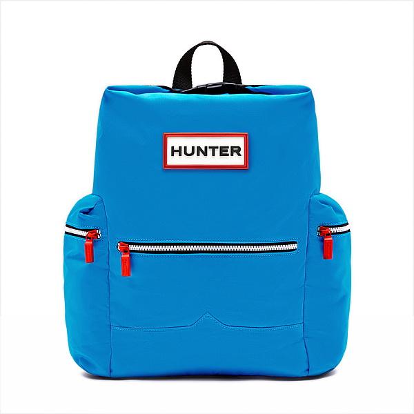 ★エントリーでポイント5倍!HUNTER(ハンター) オリジナル トップクリップバックパック ナイロン/オーシャンブルー UBB6017ACD