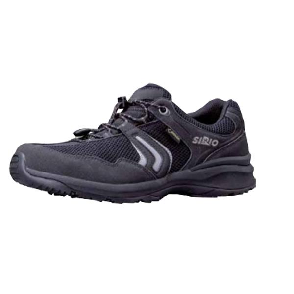 SIRIO シリオ P.F.112/BLK/25.0cm PF112アウトドアギア アウトドアスポーツシューズ メンズ靴 ウォーキングシューズ ブラック 男性用 おうちキャンプ