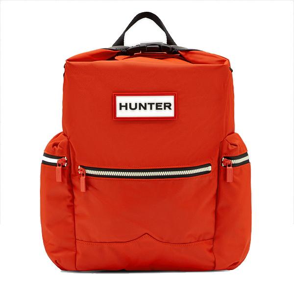 ★エントリーでポイント5倍!HUNTER(ハンター) オリジナル トップクリップバックパック ナイロン/オレンジ UBB6017ACD