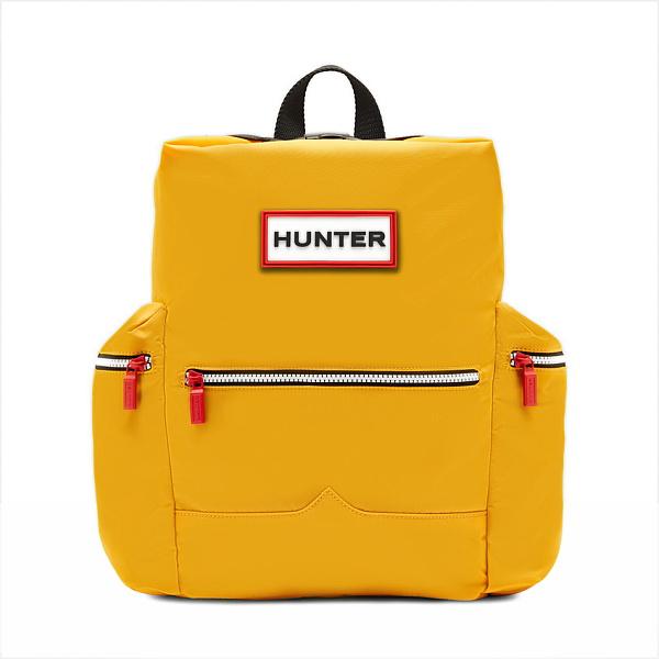 ★エントリーでポイント5倍!HUNTER(ハンター) オリジナル トップクリップバックパック ナイロン/イエロー UBB6017ACD