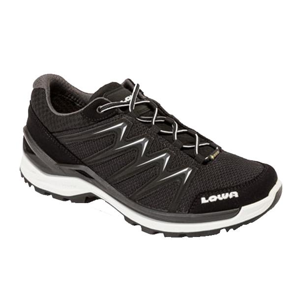 LOWA ローバー イノックス プロ GT LO Ws/ブラック×オフホワイト/3H L320709-9966アウトドアギア ウォーキングシューズ女性用 アウトドアスポーツシューズ レディース靴 ウォーキングシューズ おうちキャンプ