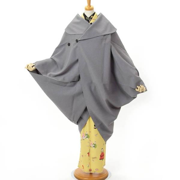 和装コート 撫松庵 着物コート 収納袋付き スクエアコート 日本製