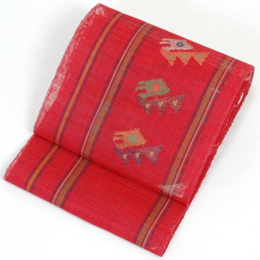 国産 八寸羅織り ざっくりとした織が涼しげで夏にぴったりです