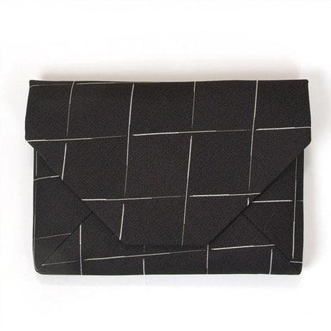 【アウトレット】箱壊れの為特別価格 新品 数奇屋袋(すきやぶくろ) 西陣正絹お召地