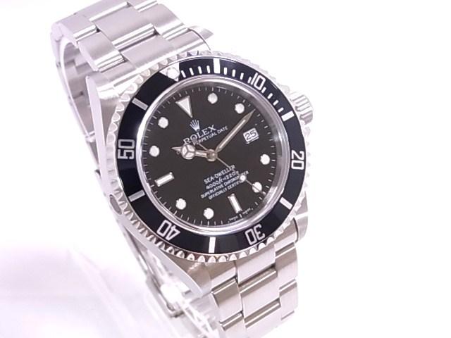 Rolex ROLEX 16,600 dweller M-SS black dial