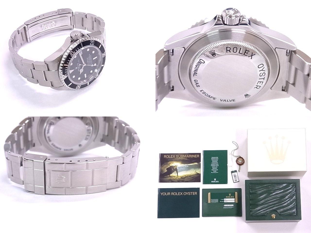 勞力士勞力士 16,600 居民 M SS 黑色錶盤