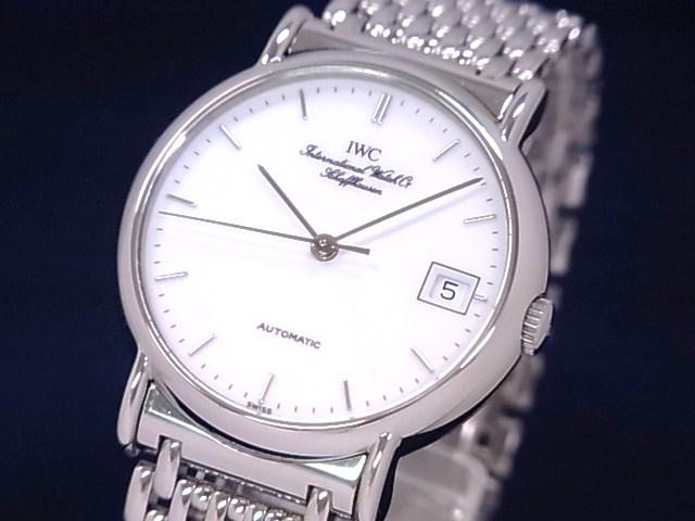 手表表帶上的收束 萬國鉑濤菲諾男表 萬國柏濤菲諾356518價格 手表圖片