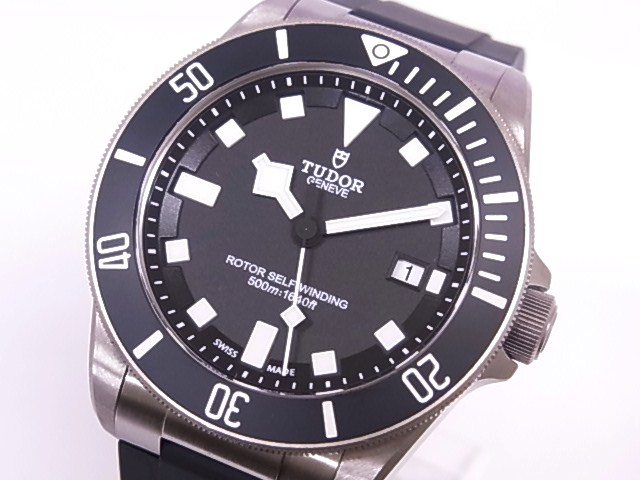Tudor TUDOR 25500TN Pelagos TI × rubber black dial automatic movement