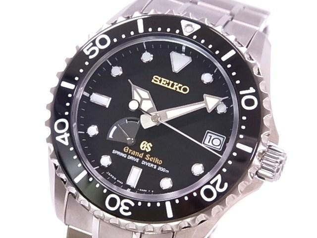 精工 SBGA031 精工盛大精工彈簧驅動潛水夫主店限量鈦黑版