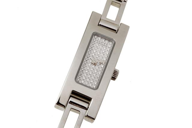 6cd316b9c8f Pawnshop YAMAKI  Gucci GUCCI 3900L Ladies watch diamond dial SS ...