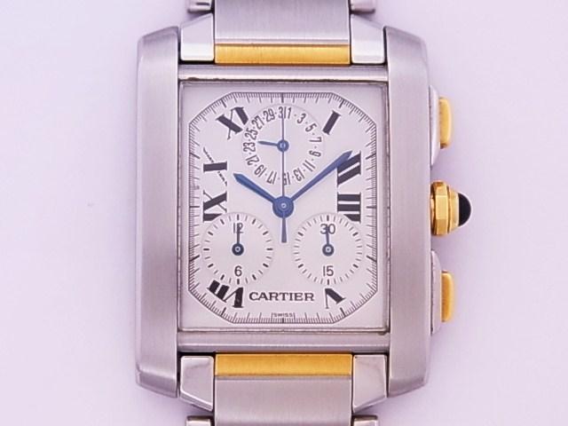Cartier CARTIER Francaise Chronoreflex YG×SS quartz