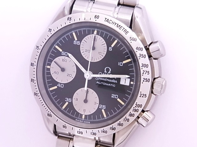 OH has been Omega OMEGA 3511.50 Speedmaster date SS black dial automatic