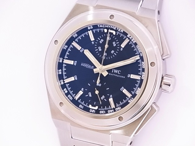 Beauty products IW37250 IWC Ingenieur chronograph SS automatic winding