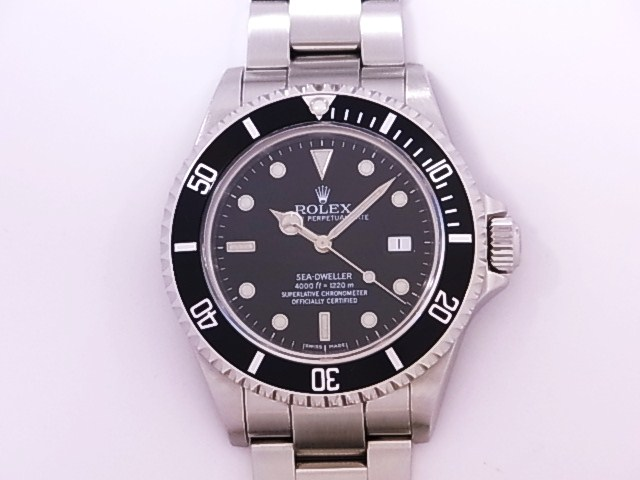 OH has been Rolex ROLEX 16,600 side error F-SS automatic winding