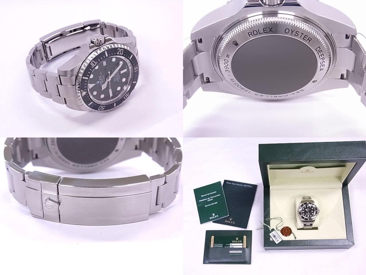 Rolex 116660 ROLEX sea dweller deepsea V-SS black dial automatic movement