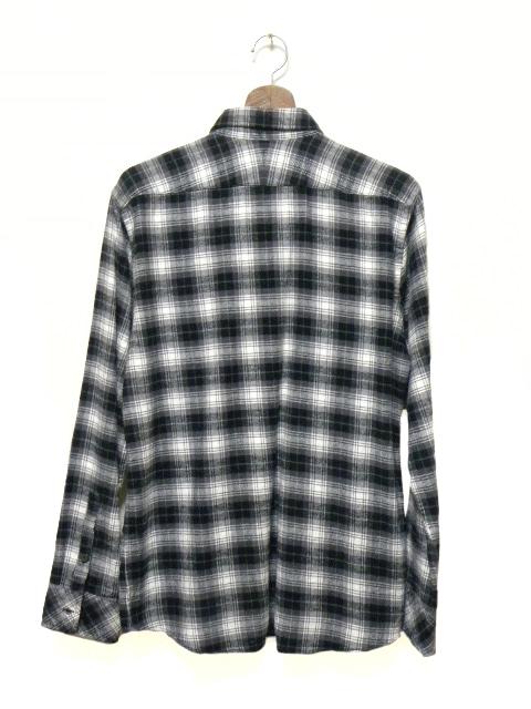 Burberry Black Plaid Shirt