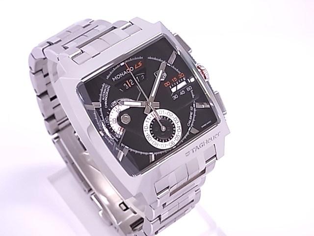 TAG Heuer タグホイヤー CAL2110BA0781 Monaco LS chronograph SS lindera board