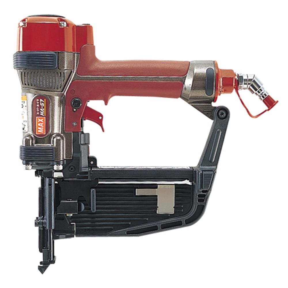 2019超人気 HA-57/957T:ホームセンターヤマキシ店 高圧ステープル釘打機/フロア MAX-DIY・工具