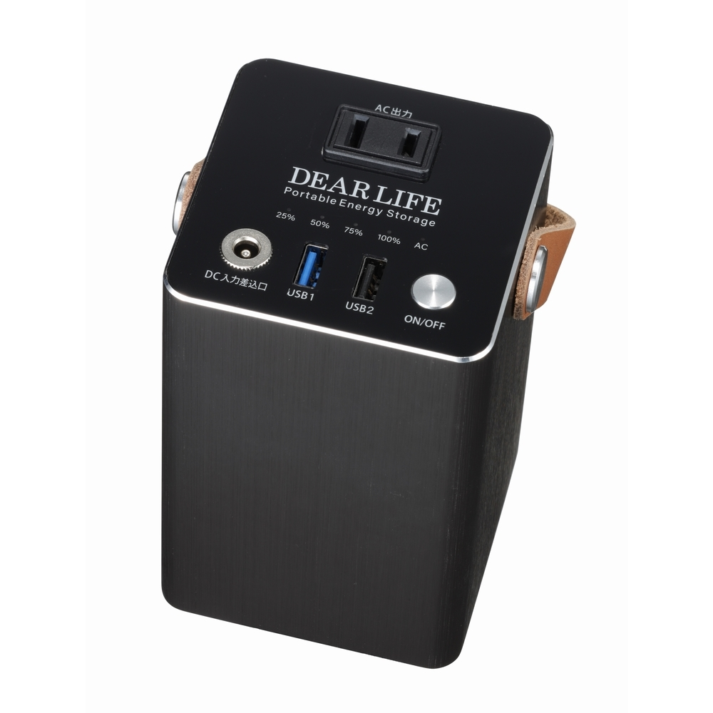 PIF ポータブル蓄電池エナジープロS LB-100