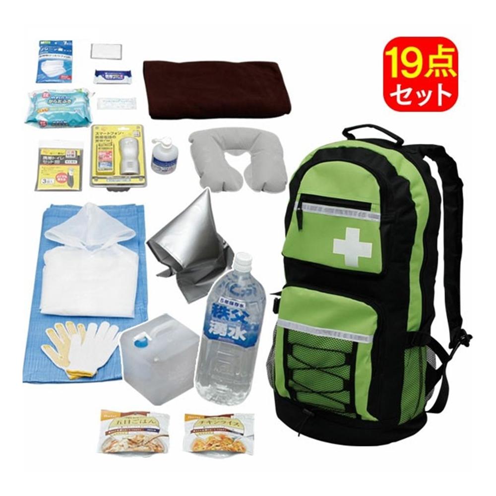アイリスオーヤマ 避難リュックセット食品付 HRS-19S