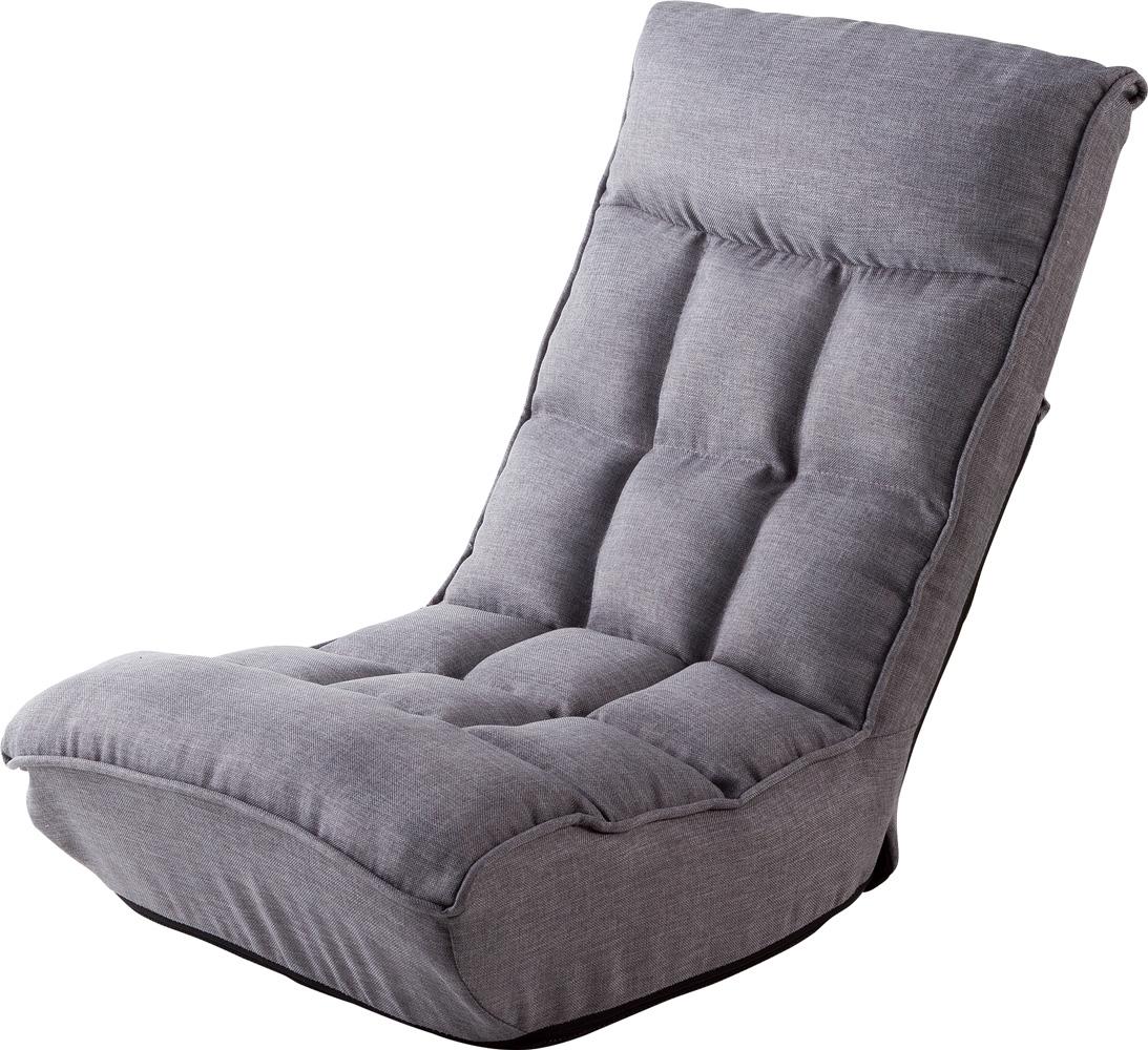武田コーポレーション ポケットコイル入り シアター座椅子 GLY(グレー) YDBY-08GLY 【○】