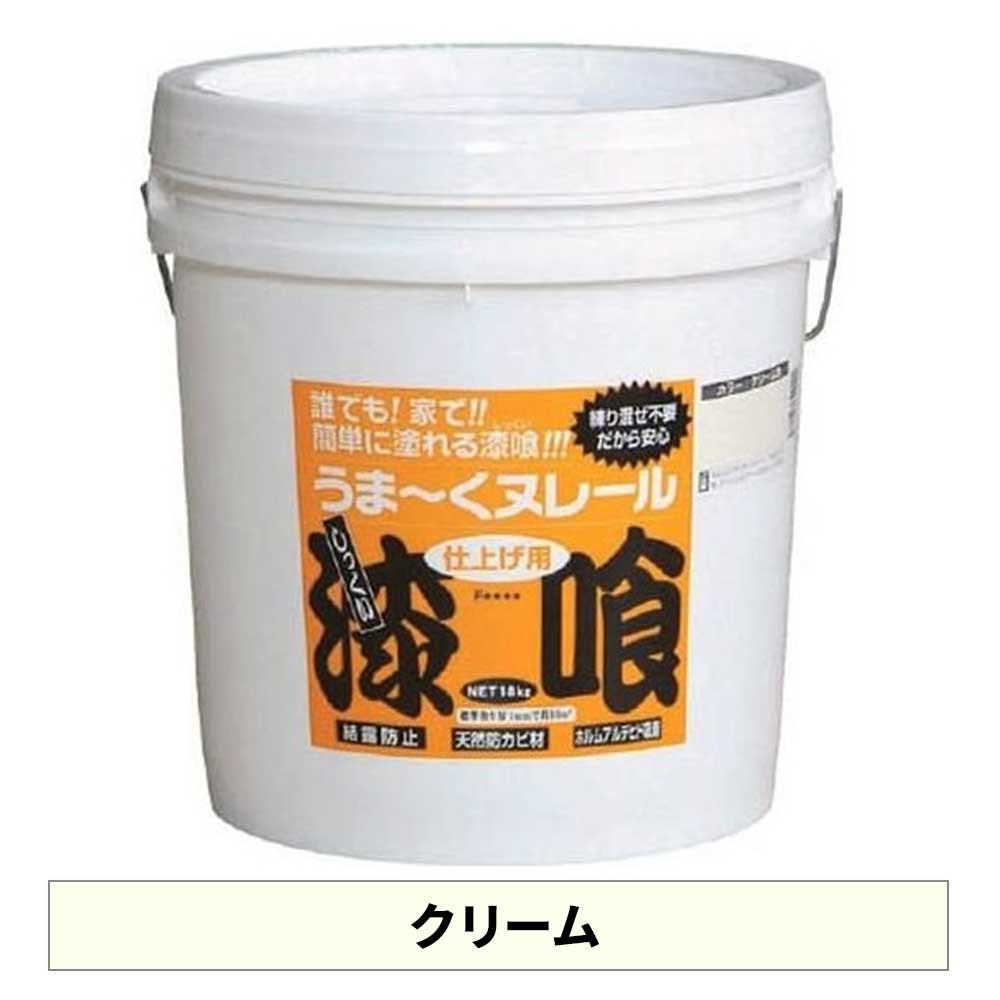 日本プラスター うま~くヌレール クリーム色 18kg