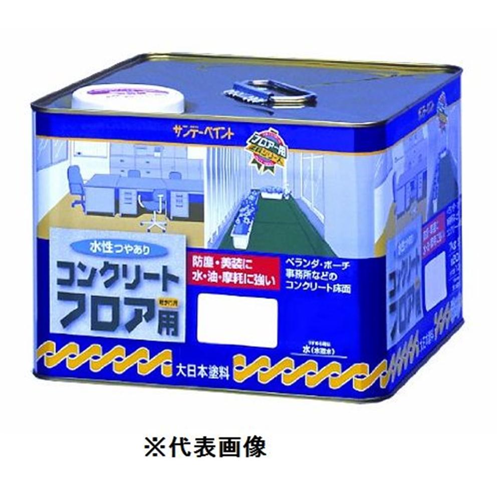 サンデーペイント 水性コンクリートフロア用(緑) 【14kg】