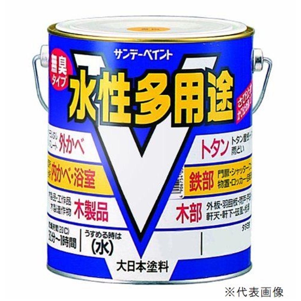サンデーペイント 水性多用途 14L アイボリー