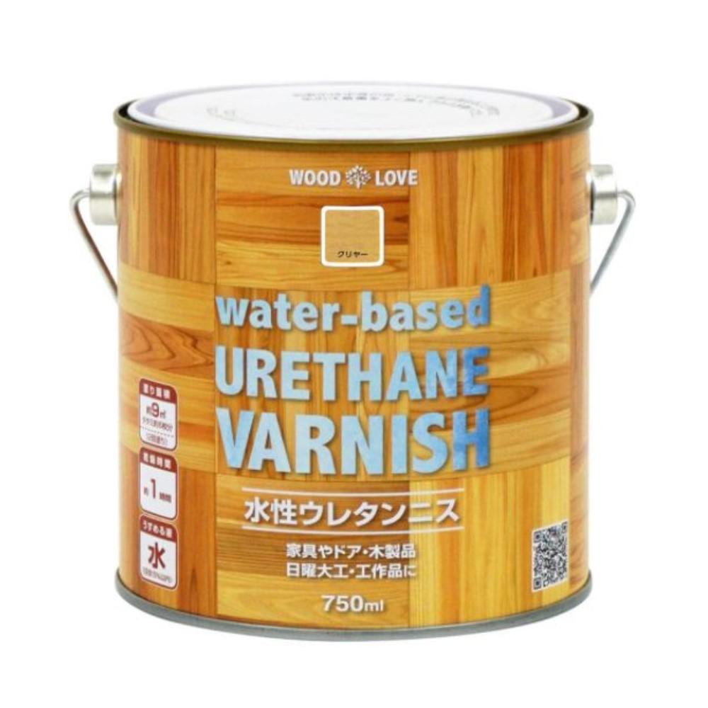ニッペホームプロ WL オンライン限定商品 水性ウレタンニス 賜物 クリヤー 750ml