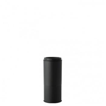 HONMA ホンマ製作所 黒耐熱ステンレス≪溶接煙突(二重)/煙突径φ120mm(外筒径φ170mm)≫ [No.501113038]