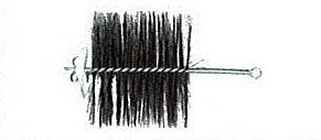 最安値挑戦中 HONMA ホンマ製作所 代引き不可 ワイヤーブラシ 4.0寸 φ120mm用 501806005 ☆送料無料☆ 当日発送可能
