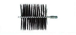 マーケティング 激安価格と即納で通信販売 HONMA ホンマ製作所 ネジ付ワイヤーブラシ 4.0インチ φ106mm用 501806001