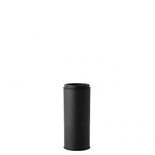 HONMA ホンマ製作所 黒耐熱ステンレス≪溶接煙突(二重)/煙突径φ150mm(外筒径φ200mm)≫ [No.501113008]