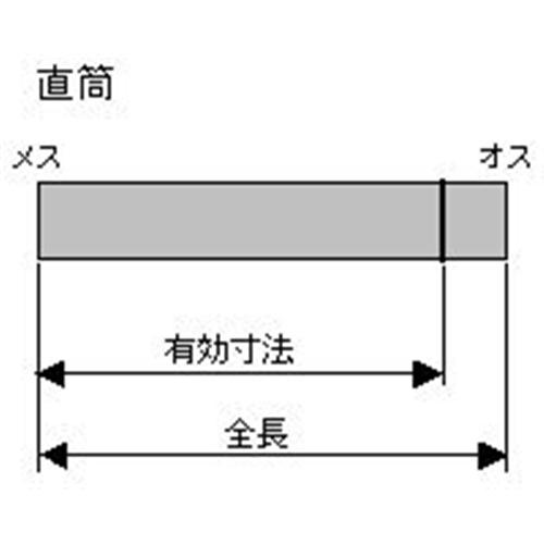 HONMA ホンマ製作所 ステンレス 直筒≪ハゼ折り煙突(シングル)/煙突径φ100mm≫ [No.12016]