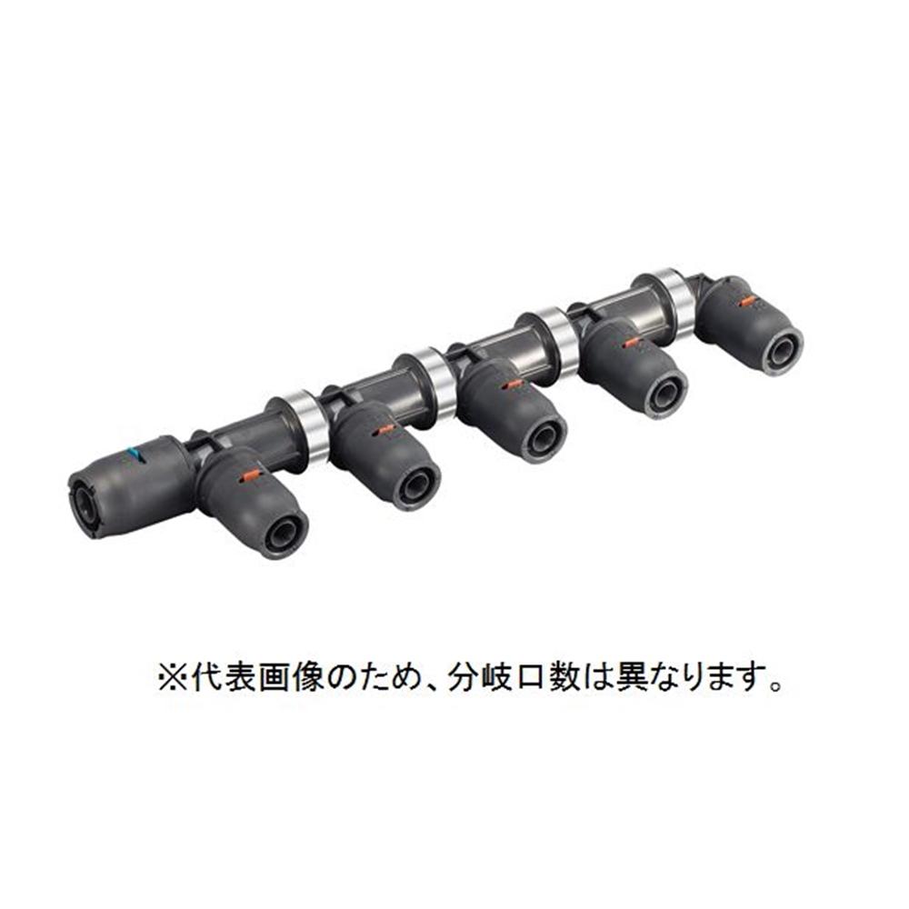 三栄水栓 SANEI 樹脂ヘッダー・末端エルボ・7P [3DJ-P-HDL-7P]