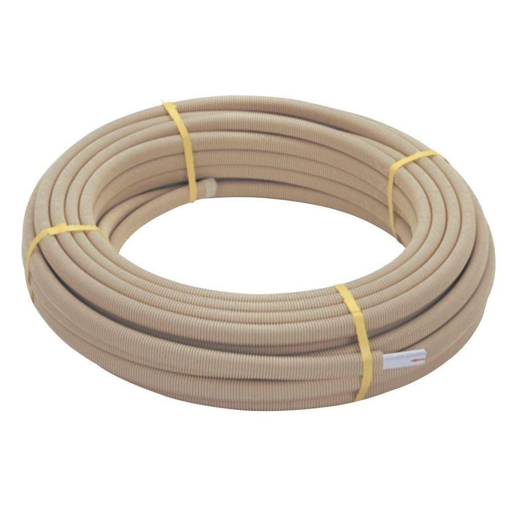 三栄水栓 SANEI さや管付ペア樹脂管《配管用品/一口循環接続》(バスルーム用) [T421-863-10A]