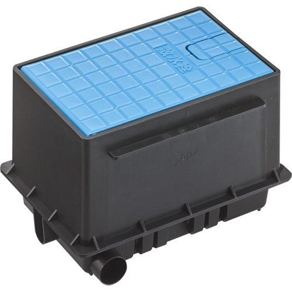 三栄水栓 SANEI 散水栓ボックスセット《ガーデニング》 [R81-93S-B]ブルー