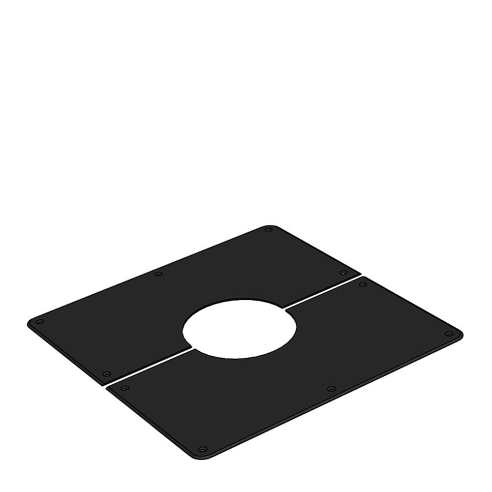 HONMA ホンマ製作所 黒 フロア用眼鏡板 φ200用 13221