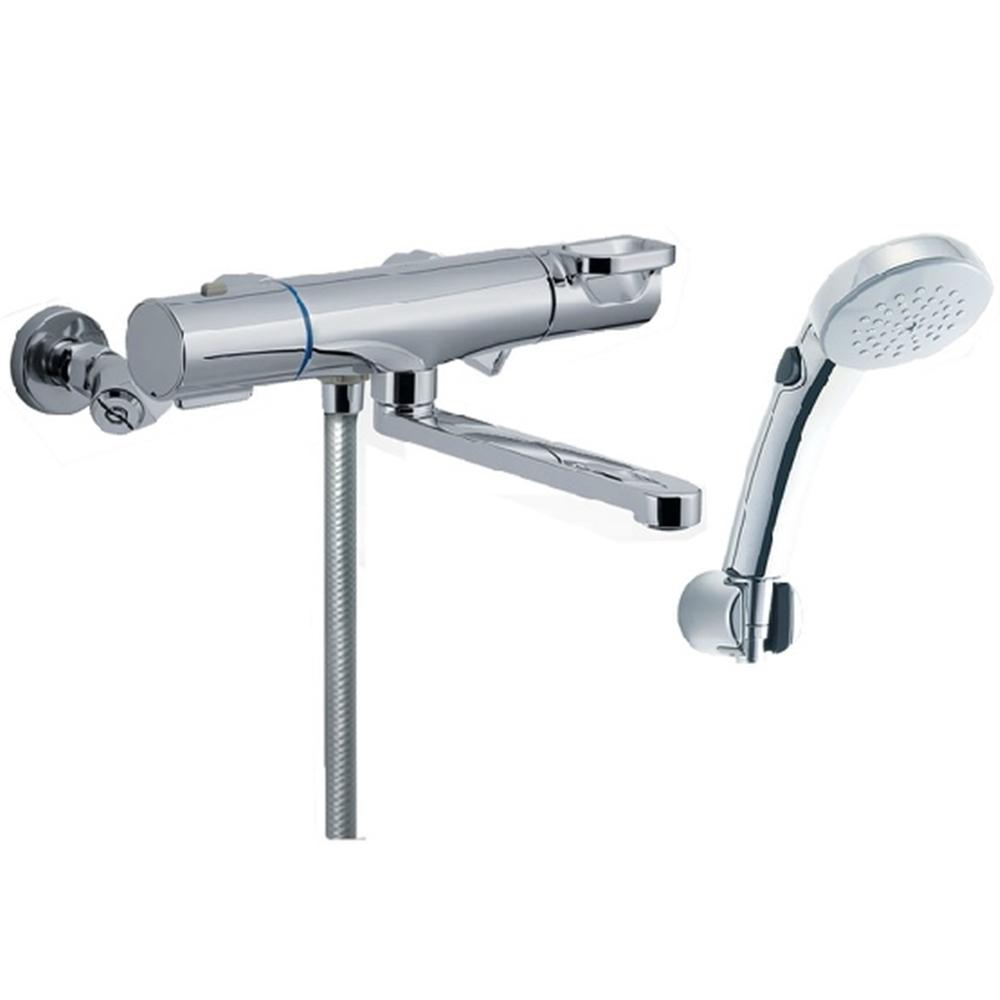 LIXIL(リクシル) サーモスタット付シャワーバス水栓(回せるもん) RBF-814ZNW