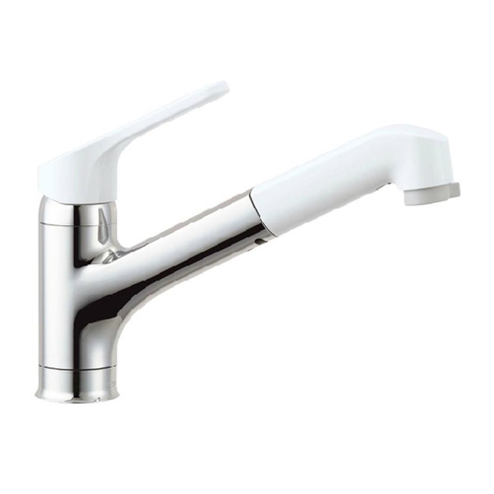 LIXIL(リクシル) (ワンホールタイプ) ハンドシャワー付シングルレバー混合水栓(エコハンドル) RSF-832Y