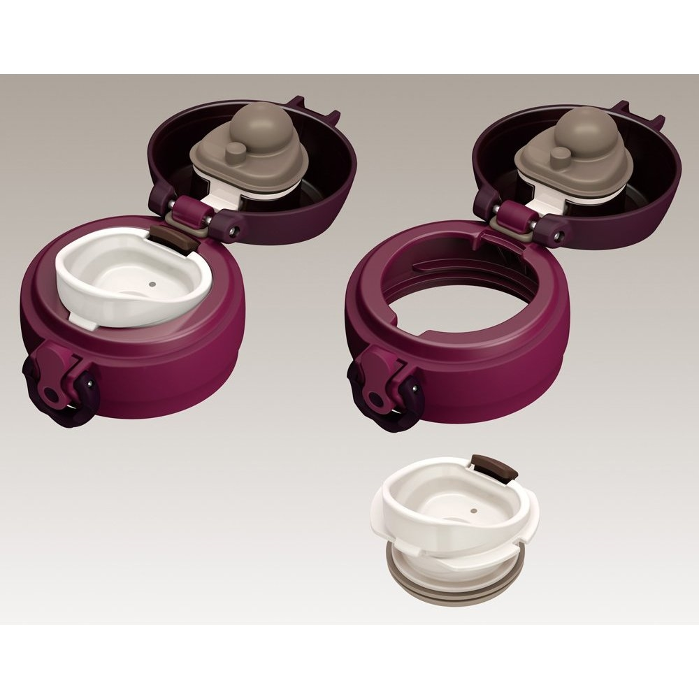 Thermos vacuum insulated thermos jmy mobile mug Burgundy JNL-600 BGD