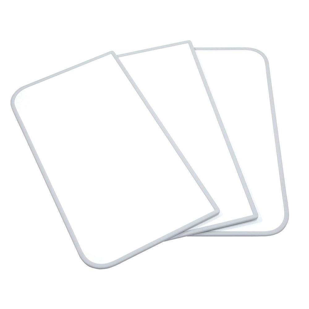 東プレ センセーション(組み合わせ風呂ふた) 【75×120cm用】(3枚割) ホワイト/ホワイト L12