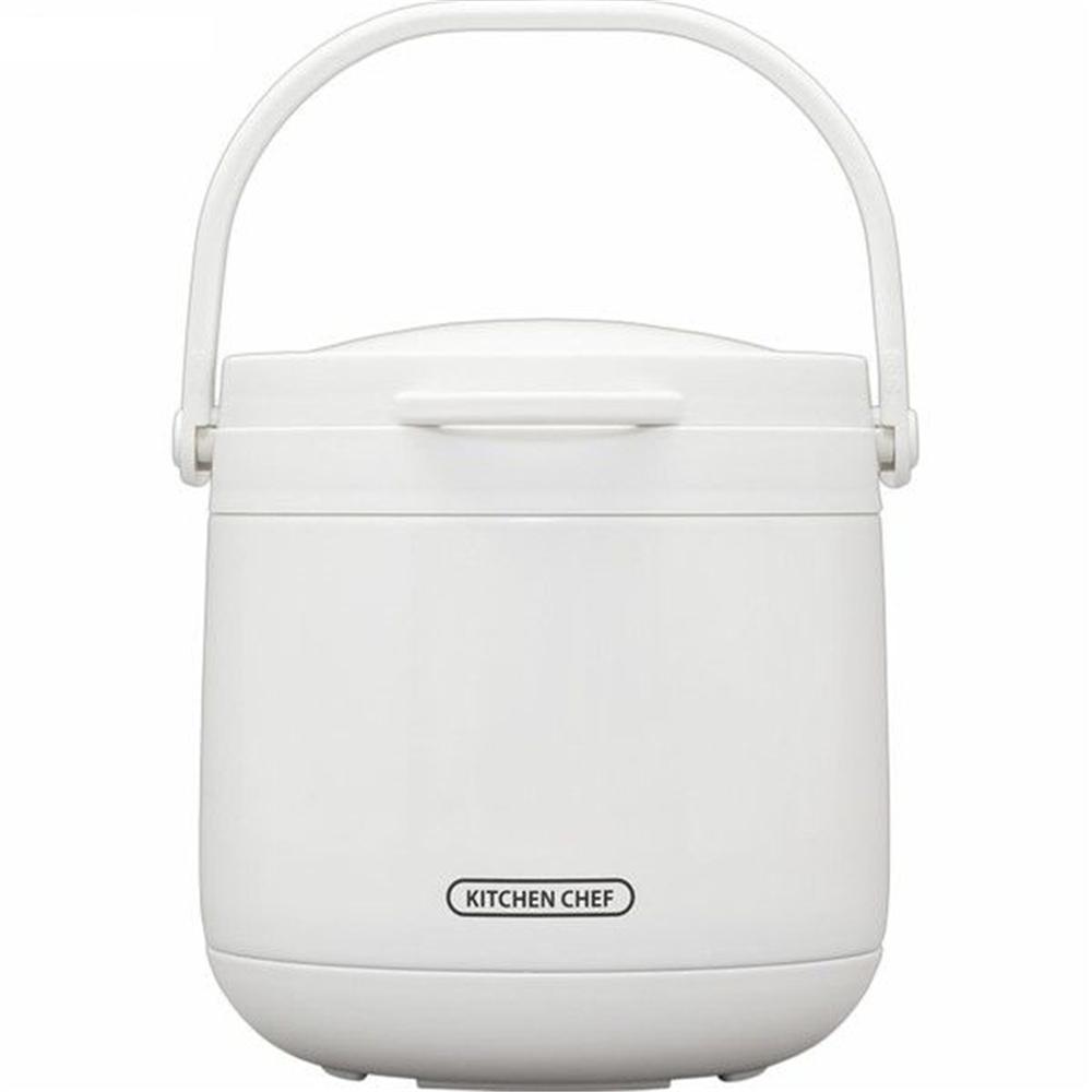 アイリスオーヤマ ダブル真空保温調理鍋 おまかせさん4.5L・ホワイト RWP-N45